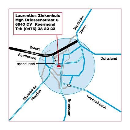 Plattegrond Roermond